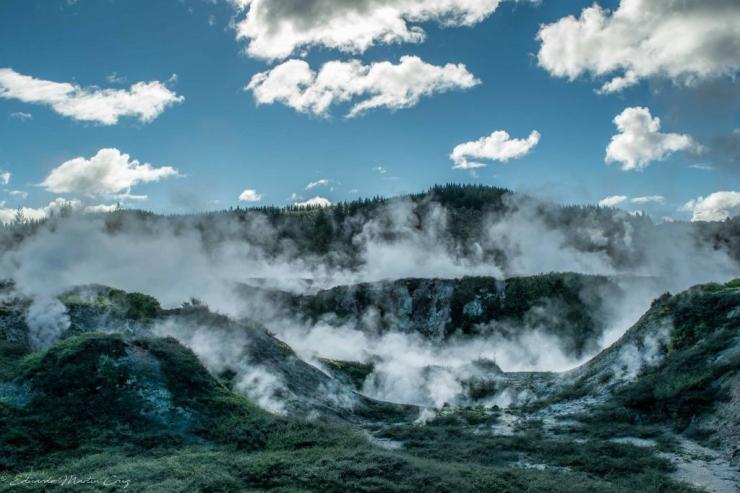 Taupo y el gigante dormido: la meseta central de la Isla Norte.