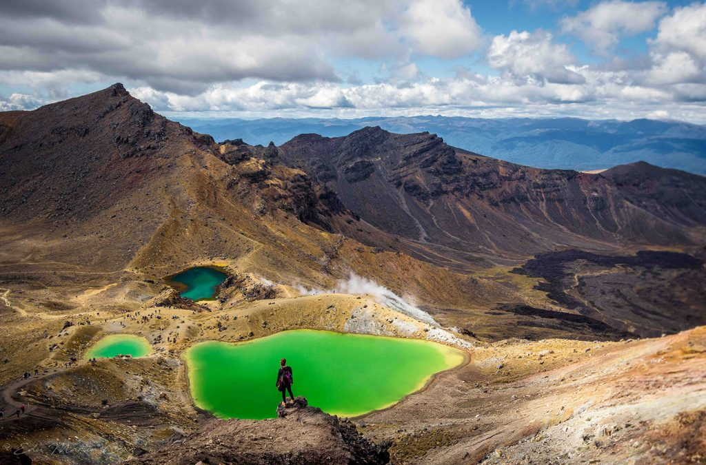 tongariro alpine crossing en nueva zelanda