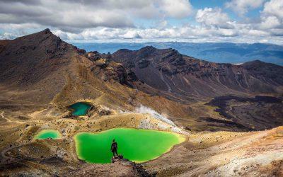 Tongariro Alpine Crossing: la alfombra roja del trekking en Nueva Zelanda