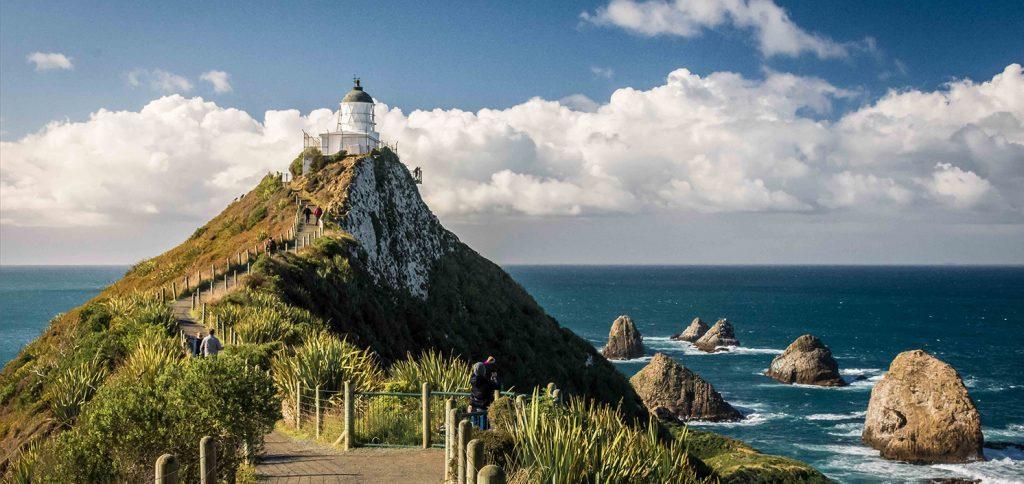 Nugget Point en Nueva Zelanda