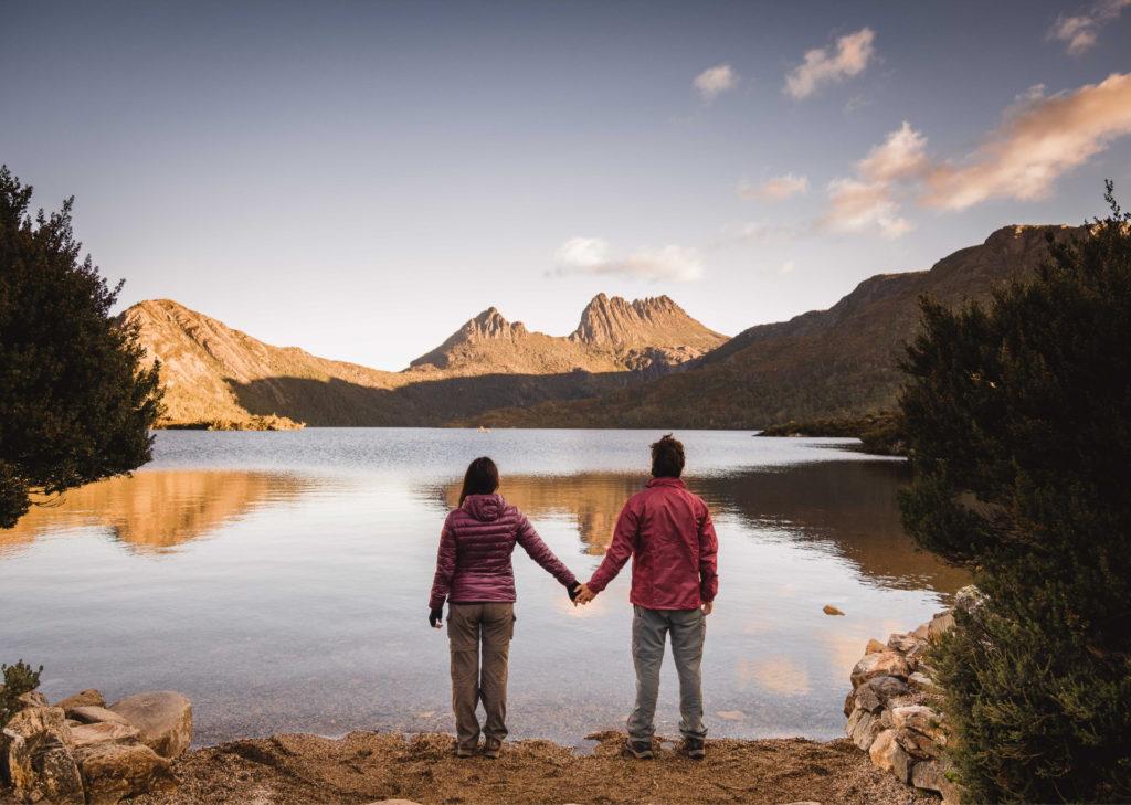 Cradle Mountain en tasmania, mejores destinos en australia