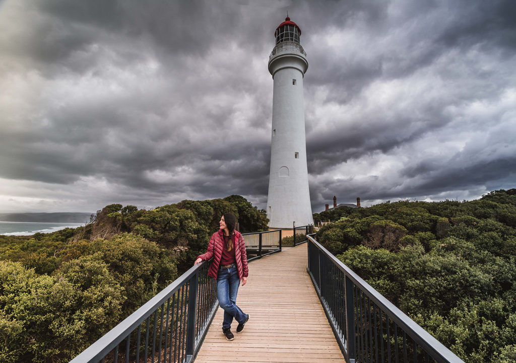 Faro de Angelsea en la Great Ocean Road