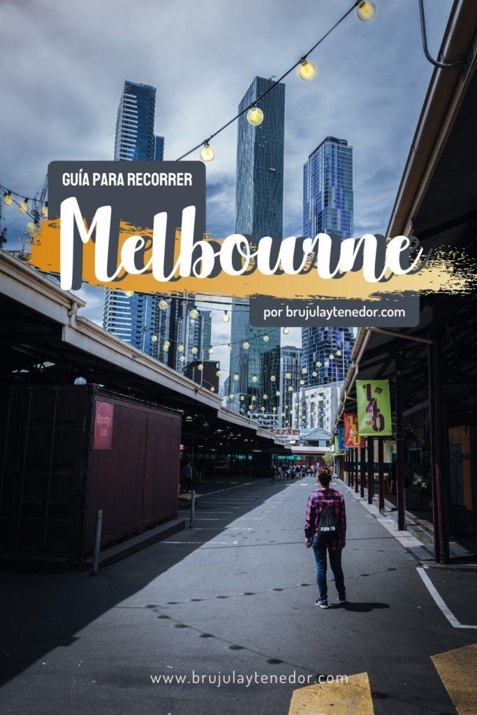 guia para recorrer Melbourne