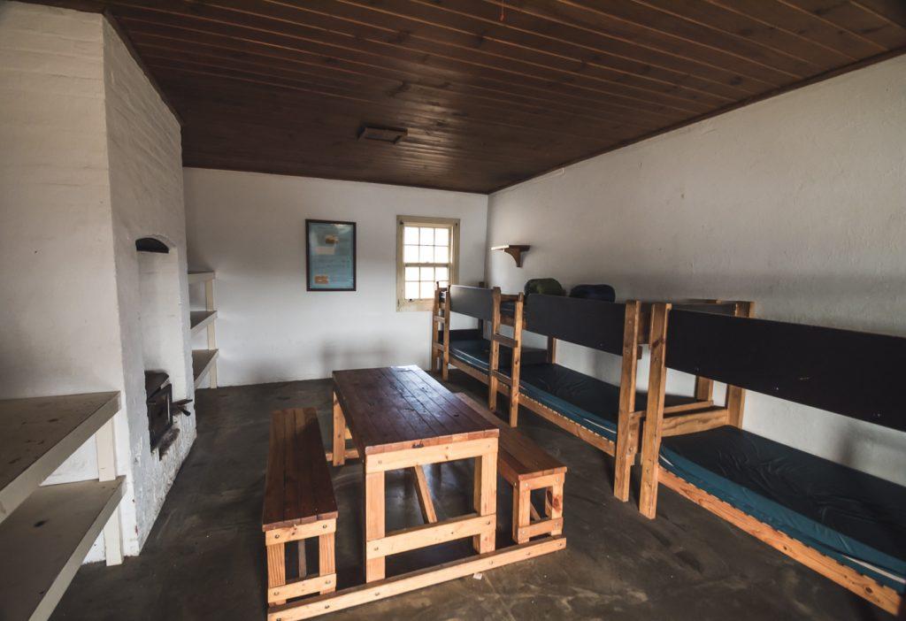 nuestra habitación en maria island
