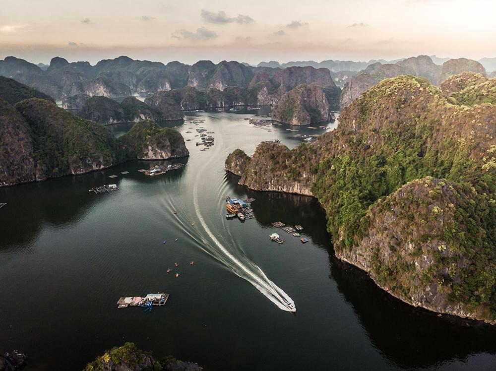 Halong bay desde las alturas