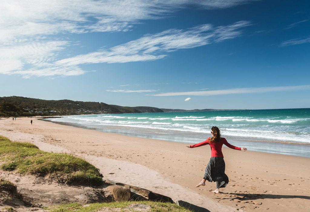Playa de Lorne en la Great Ocean Road