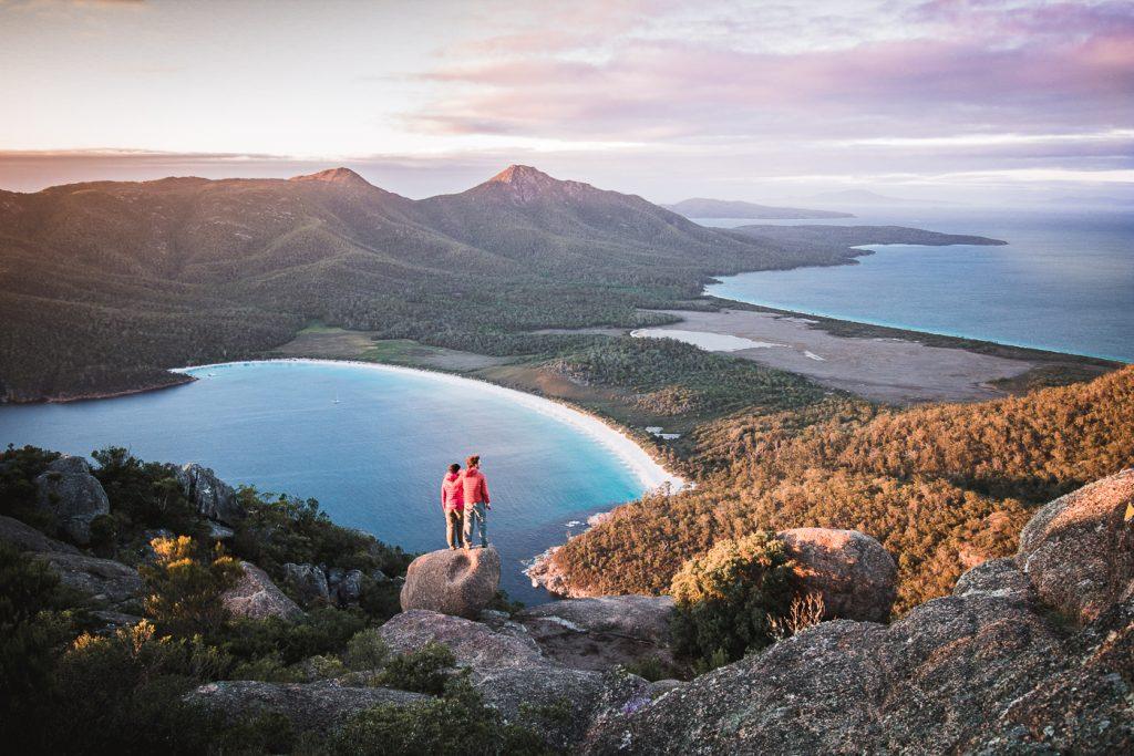 Amanecer en Mt Amos, Tasmania