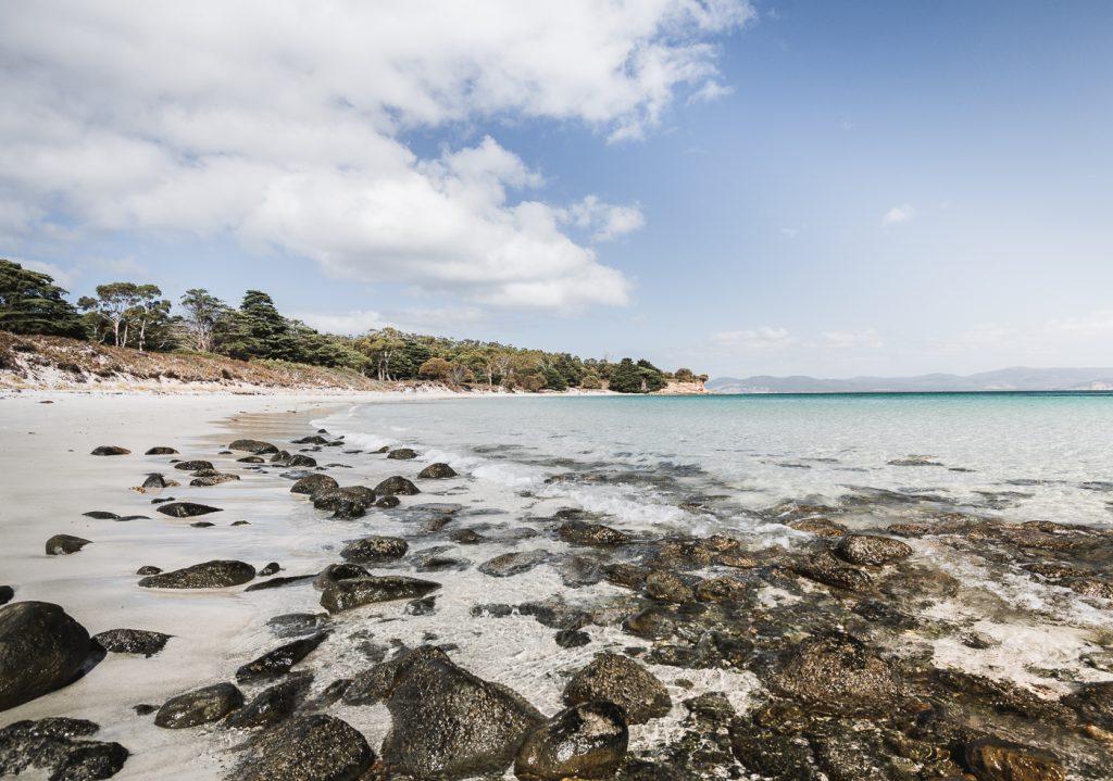 playa en maria island