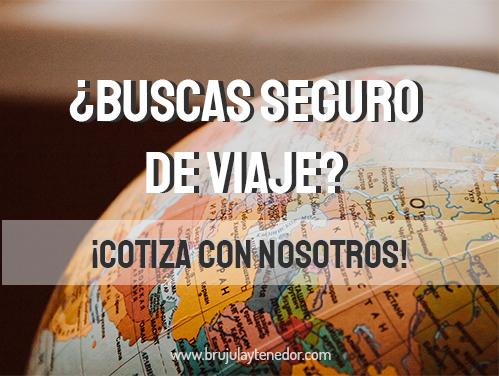 venta de seguros de viaje o asistencias al viajero