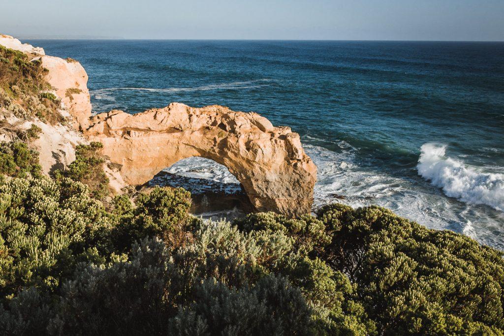arco de pierda en la great ocean road