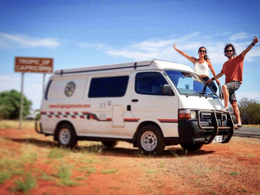 Roadtrip por Australia a bordo de nuestra casa van La Bandida