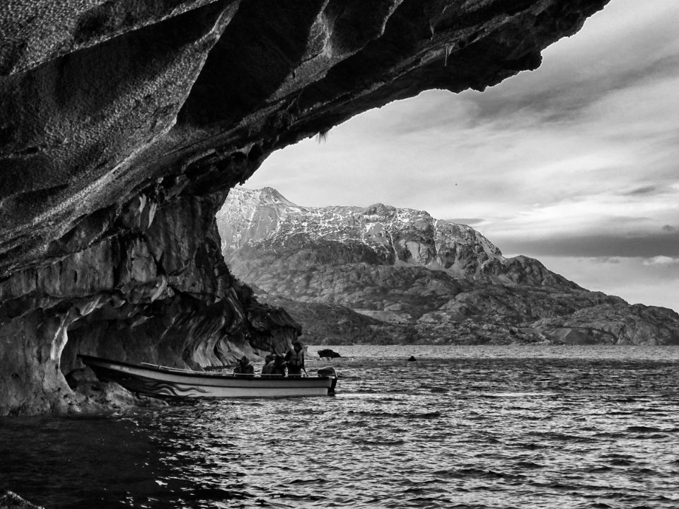 cuevas de marmol en coyhaique