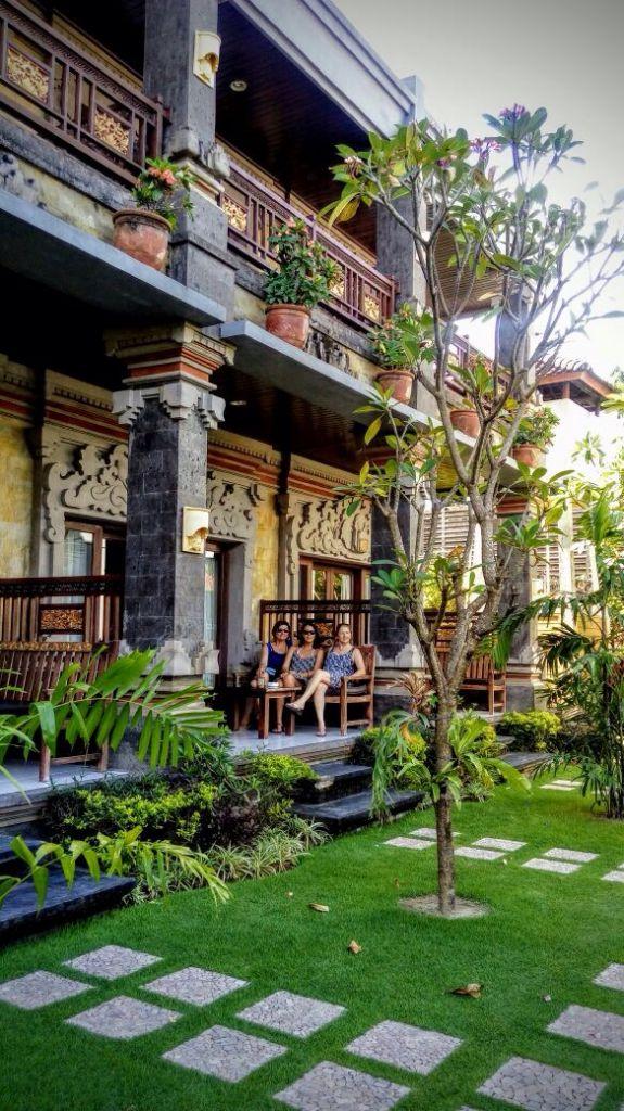 uno de los hoteles que nos quedamos en Sanur