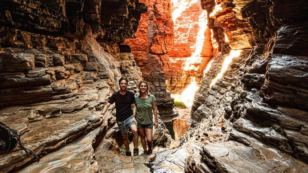 cañones de karijini en western australia