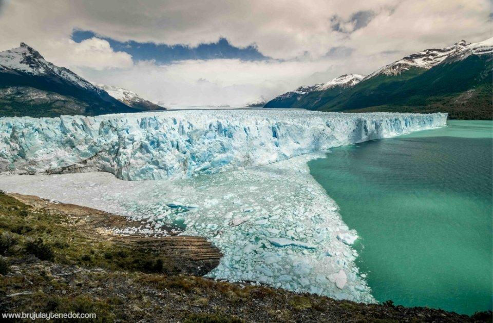 glaciar perito moreno en la patagonia argentina