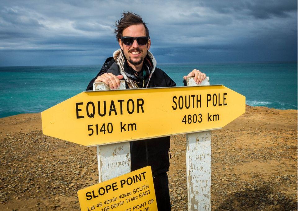 Slope Point, el punto más austral de Nueva Zelanda