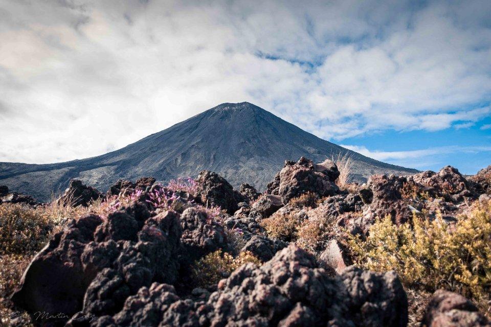 vistas del volcán
