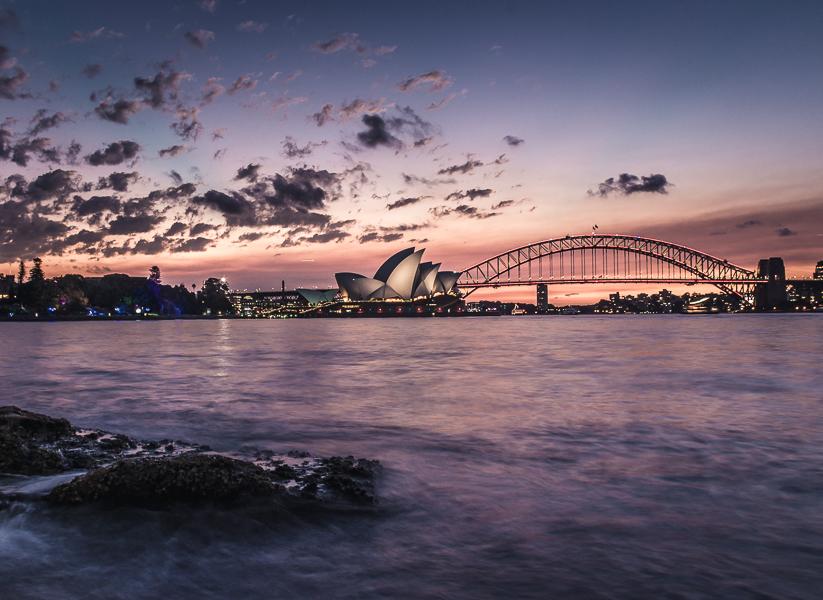 que hacer en Sydney vistas al opera house y harbour bride