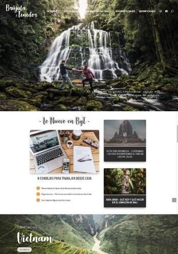 como crear un blog ejemplo de home