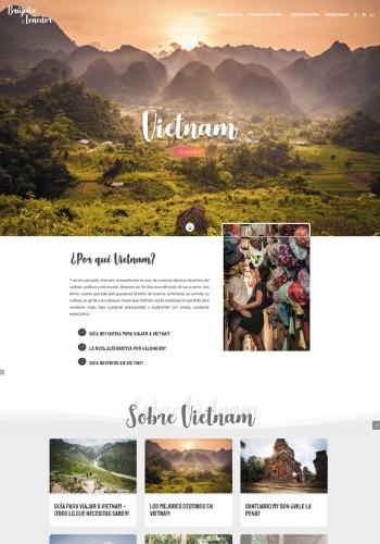 como crear un blog ejemplo de pagina