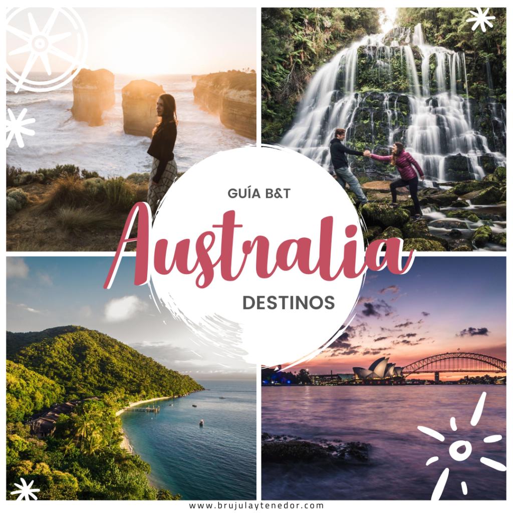 mejores destinos en australia para viajar