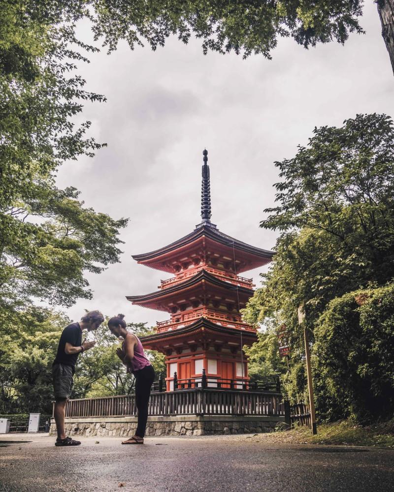 nosotros en Japón, Kyoto