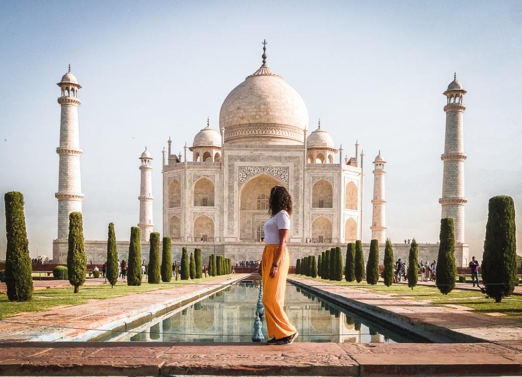Taj Mahal en India - Relatos de viajeros Natalia Carreño