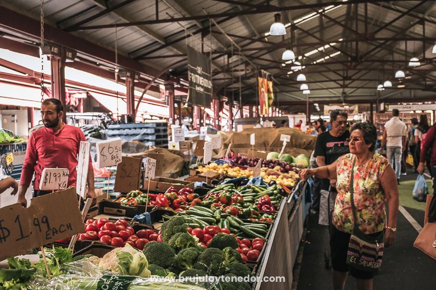 Siempre prefiere los mercados locales