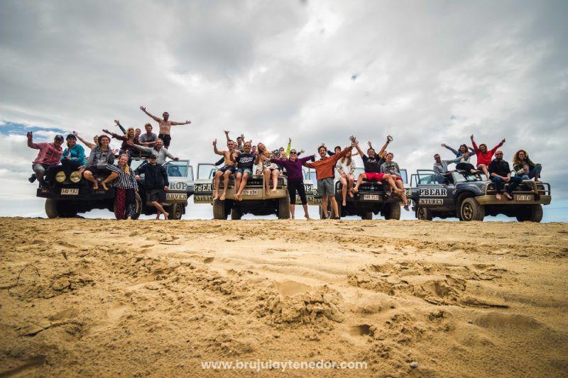tour en Fraser Island (Australia) en grupo pequeño y turismo sustentable