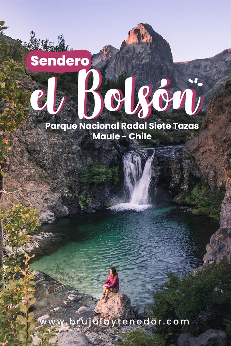 sendero el bolsón, parque inglés, region del Maule, Chile