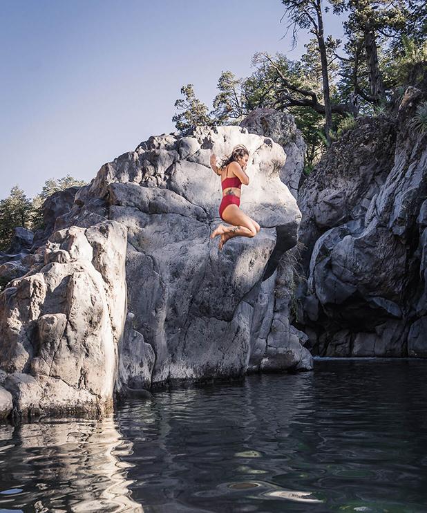 piscinas naturales en parque nacional siete tazas