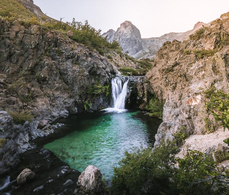Sendero El Bolsón – Parque Inglés. Trekking en el Parque Nacional Radal Siete Tazas