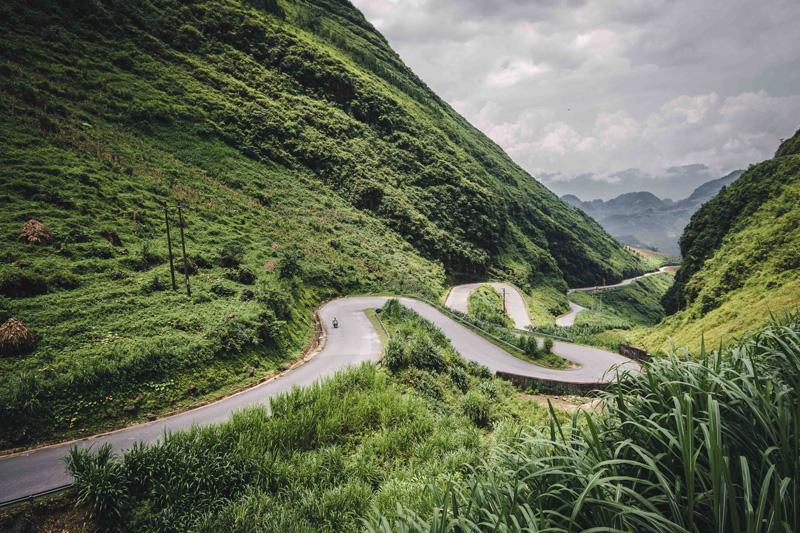 ruta de culebra en Ha Giang Loop