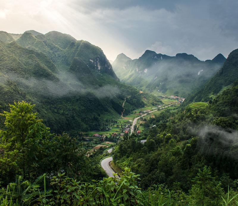 paisajes del norte de vietnam