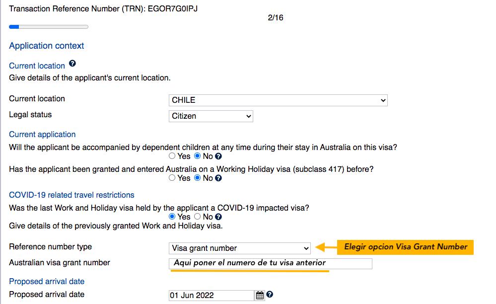 waiver working holiday australia