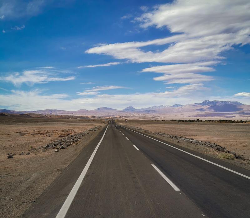 carreteras de San Pedro de Atacama
