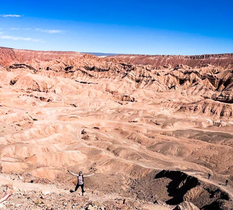 quebrada de chulcao en San pedro de Atacama