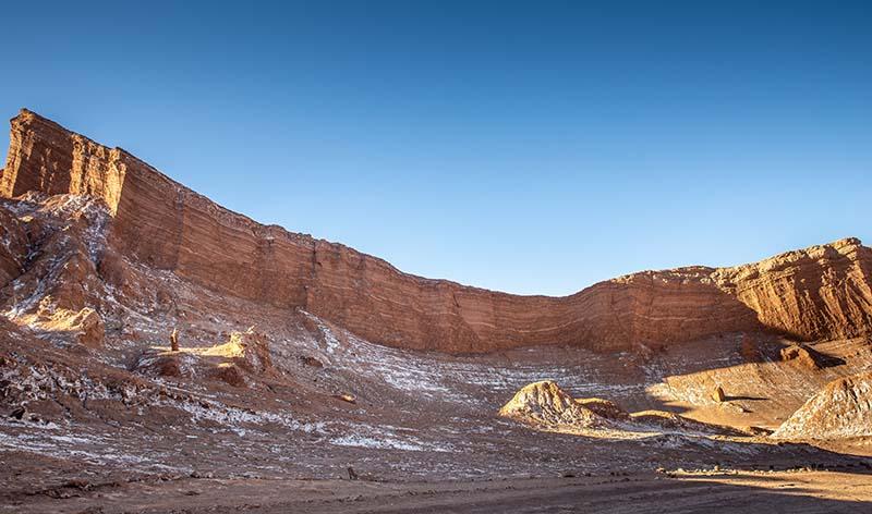 Valle de la luna en San Pedro de Atacama